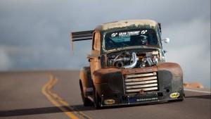 Bukan Tow Mater, Truk Tua Ford Ini Raja Balap Pikes Peak
