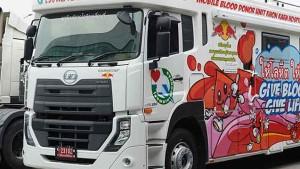 Tengok Unik dan Mewahnya UD Trucks Quester Versi Truk Donor Darah