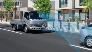Toyota Dyna Kini Dilengkapi Teknologi Pre-Collision.