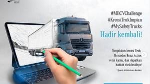 Tak Hanya Bus, Mercedes-Benz Indonesia Gelar Kontes Kreasi Truk Impian