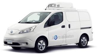 Tokyo Motor Show 2017: Nissan Pamerkan Mobil Listrik Evalia Blind Van