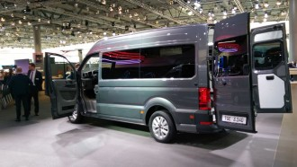 Grup Volkswagen Pasarkan Van VW Crafter dengan Branding MAN TGE Akhir Tahun Ini