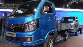 Tata Motors Pamerkan Mini Pick Up Anyar Tata Intra di Auto Expo 2018