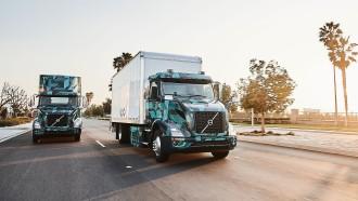 Volvo Demonstrasikan Truk Listrik Heavy Duty Di Amerika Utara