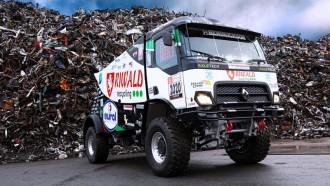 Unik, Ternyata Ada Truk Balap Berteknologi Hybrid di Ajang Rally Dakar