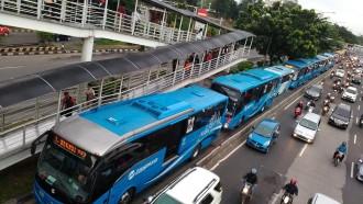 JPO Halte TransJakarta BI Ditutup, Efek Pembangunan MRT Jakarta Fase 2