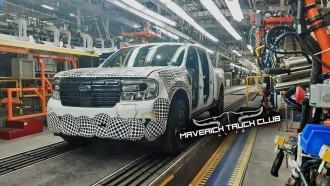 Pikap Ford Maverick Mulai Masuk Produksi, Ini Bocorannya