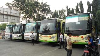 PSBB, Bus Umum Tetap Beroperasi
