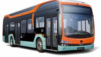 Bus Listrik BYD Raih iF Design Award 2020