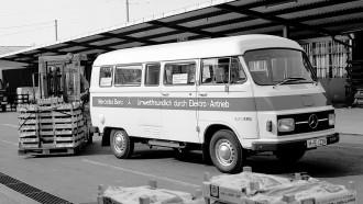 Inilah Van Mercedes-Benz Listrik Ramah Lingkungan Buatan 45 Tahun Lalu