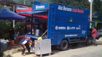 Truk Dapur Umum Muhammadiyah Turun Bantu Korban Banjir Jabodetabek