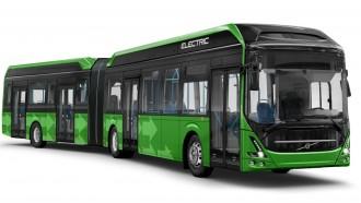 Volvo Dapat Pesanan Bus Listrik Gandeng 150 Penumpang