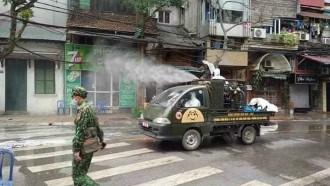 Vietnam Andalkan Daihatsu Espass Semprot Disinfektan Di Jalan