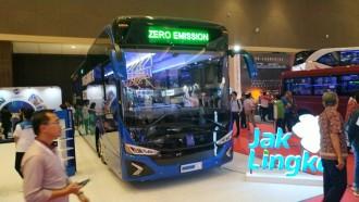 Spesifikasi Bus Listrik MD 12E yang Tampil di Booth Transjakarta di Busworld SEA 2019