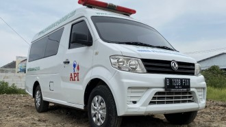 Dibangun Karoseri, Ambulans DFSK Super Cab Tetap Bergaransi Resmi
