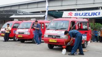 Suzuki Gelar Program Servis Gratis untuk 500 Angkot di Jakarta