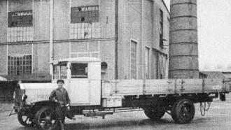 Truk Diesel Pertama Hadir 1923