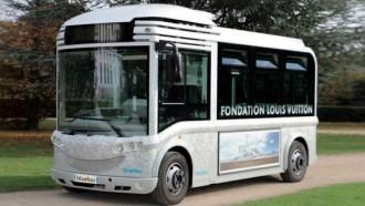 Navya Dan Bluebus Kolaborasi Hadirkan Bus Listrik Otonom