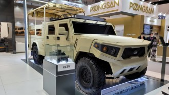 KIA Hadirkan Pikap Militer Sangar, Humvee Ala Korea