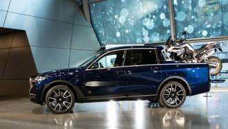 BMW X7 Pikap, Sangat Menarik, Sayang Tak Akan Diproduksi