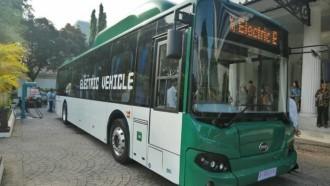 MAB dan BYD Jadi Bus Listrik Transjakarta, Tinggal Tunggu Pelat Nomor