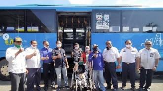 Ada Bus Ramah Difabel dan Lansia Gratis Dari Damri Mataram