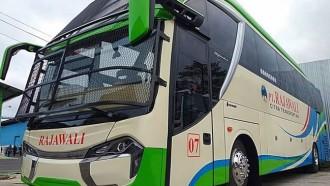 Bus Baru Rajawali Citra Transportasi, Andalkan Bodi Skylander Bertameng