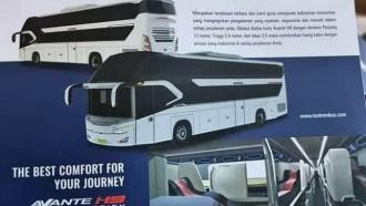 Ini Bocoran Sleeper Bus dan Ultra High Deck Dari Tentrem