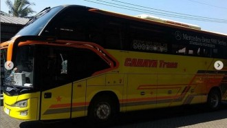 Bus Baru PO Cahaya Trans Pakai Bodi Avante H8 Flanker Edition, Ada Yang Unik