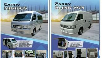 Seperti Ini Tampang Suzuki New Carry Minibus dan Blind Van