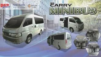 Suzuki Indonesia : Belum Produksi New Carry Minibus dan Blind Van