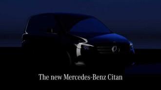Mobil Komersial Ringan Mercedes-Benz Citan Gen 2, Hadir Agustus