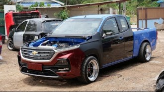 Video: Modifikasi Chevrolet Colorado Ganti Wajah All New Captiva
