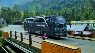 Bus-Bus Sumatra Barat Makin Menggeliat, Banyak PO Baru