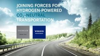 Daimler dan Volvo Kroyokan Bikin Pengembangan Truk Hidrogen