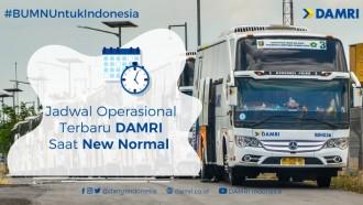 Mulai Hari Ini, Tarif Bus Damri Bandara Soekarno-Hatta Turun