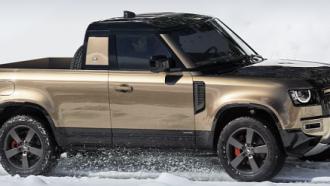 All New Land Rover Defender Pikap, Mungkin Ditawarkan Walau Tidak Realistis