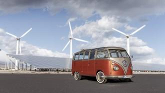 e-Bulli, Minibus VW Classic Bertenaga Listrik