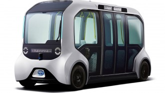 Toyota e-Palette Concept: Bus Tanpa Supir Untuk Tokyo 2020.