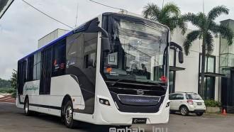 Begini Tampang, E-Cityline3 Bodi Bus Listrik Bersasis BYD