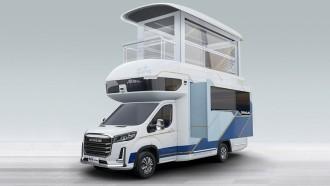 SAIC Maxus V90 Villa Edition, Bagaikan Rumah Tingkat Berjalan