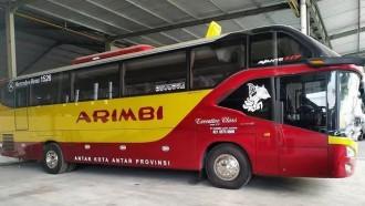 Bus Baru PO Arimbi, Andalkan Bodi Avante Bersasis Mercy