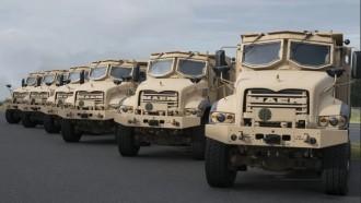 Mack Defense Mulai Produksi Truk Lapis Baja