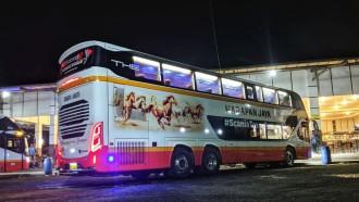 Liburan Akhir Tahun ke Surabaya, Kini Bisa Pakai Bus Tingkat PO Harapan Jaya
