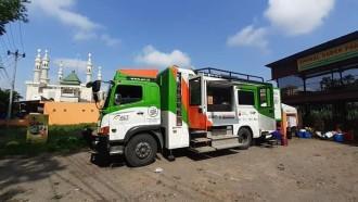 Food Truck Terbesar Di Indonesia, Untuk Aksi Kemanusiaan