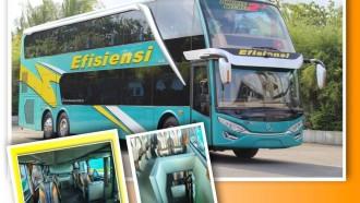 Mau Jalan-Jalan Naik Bus Tingkat PO Efisiensi? Ini Jadwalnya