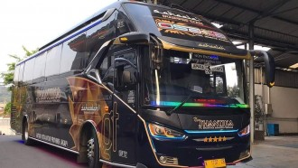 Ini Harga Tiket Dan Fasilitas Bus Physical Distancing Jakarta-Jepara