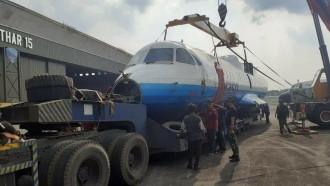 Bukan Truk Eropa, Ternyata Ini Sosok Pengangkut Pesawat N250 Gatotkaca
