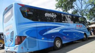 Melihat Dari Dekat Bus Baru PO ANS, Mewah Bergaya Eropa