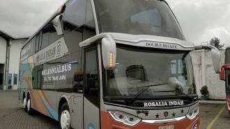PO Rosalia Indah Hadirkan Bus Di Akhir Tahun, Ini Keistimewaannya